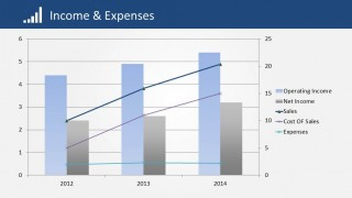 Operating and Net Income Compared to Sales and Expenses
