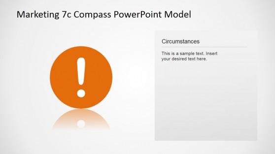 7Cs Compass Model Circumstances Concept Slide Design