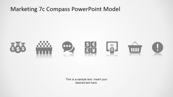 7Cs Compass Model Icons for PowerPoint