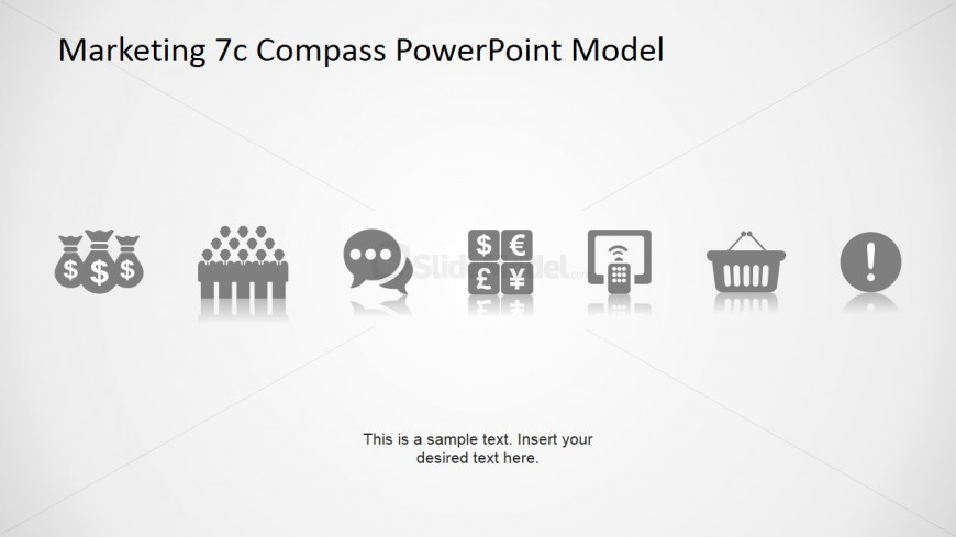 PowerPoint Icons for 7Cs Compass Model