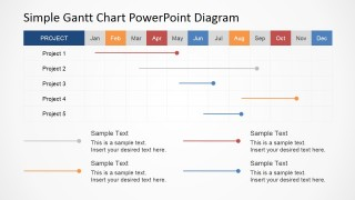 Gantt Chart Project Planning PowerPoint Designs for Presentation Tools