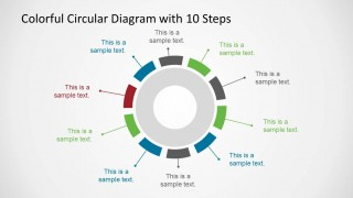 Creative PowerPoint Circular Diagram Design