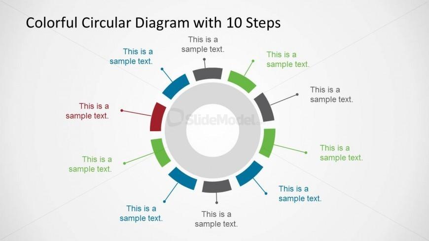 Creative PowerPoint Circular Diagram Design