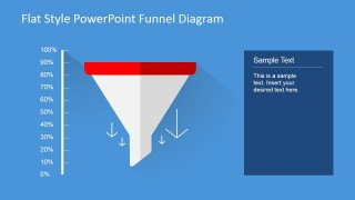 PowerPoint Diagram Funnel Chart
