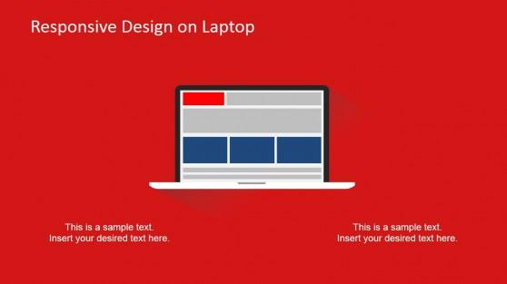 Responsive Devices Clipart Laptop Design