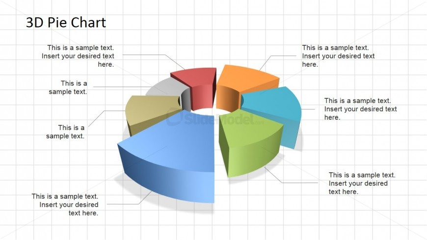 3d Powerpoint Pie Chart Slidemodel