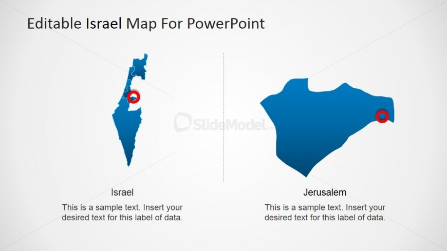 PowerPoint Sate of Jerusalem PowerPoint Map