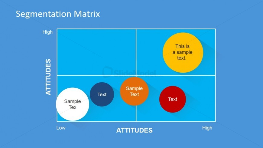 Descriptive Slide Of The Segmentation Matrix