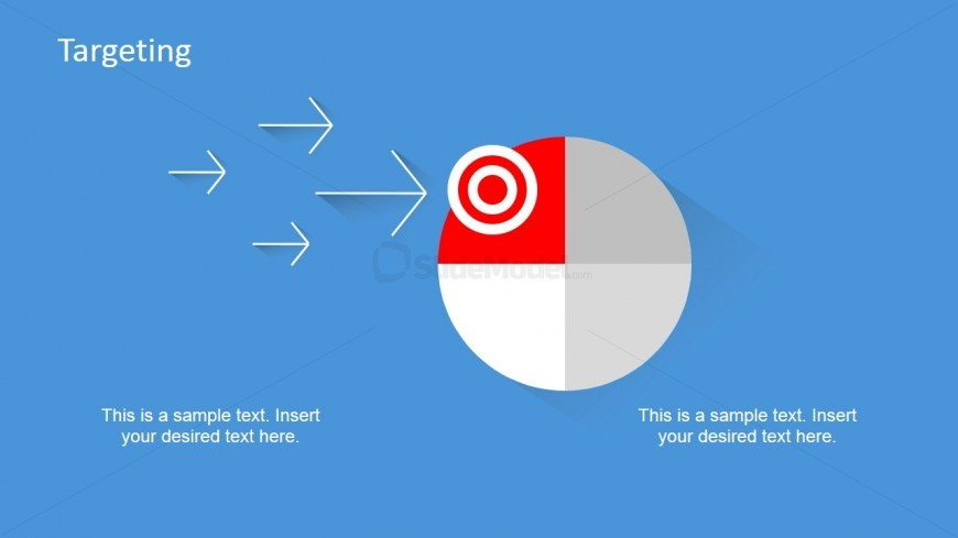PowerPoint Clipart of Targeted Marketing