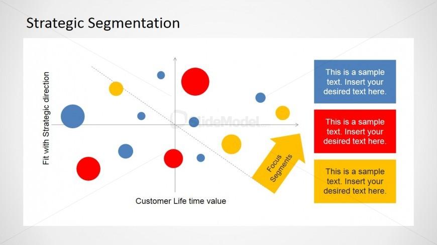 Flat Colorful Focus Strategic Segment STP Map