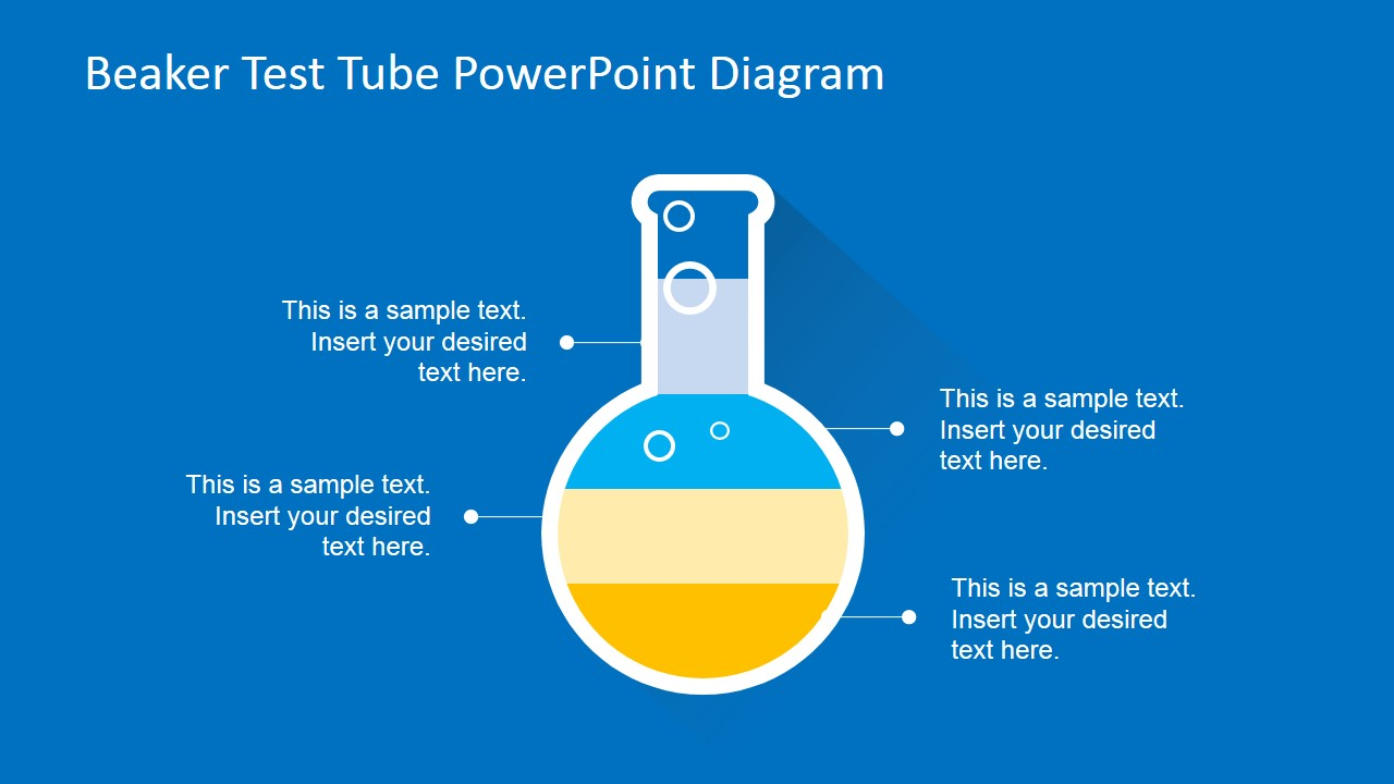 Beaker Test Tube Powerpoint Diagram