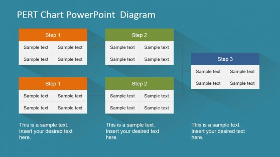 PERT Chart Templates for PowerPoint