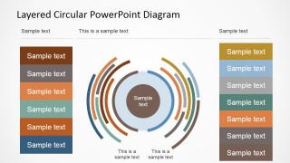 PowerPoint Staged Circular Diagram