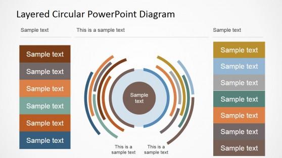 Segmented Circular Diagram for PowerPoint