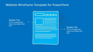 PowerPoint Services Description Mockup Webpage