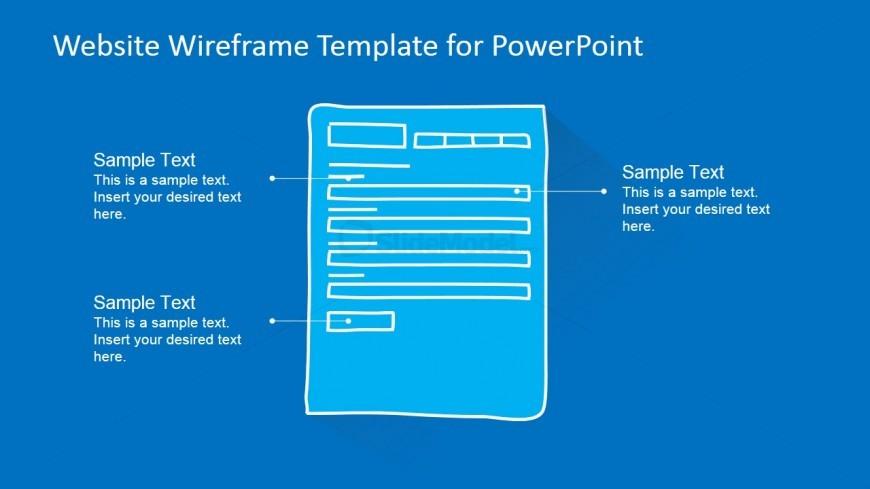 PowerPoint Form Mockup Webpage