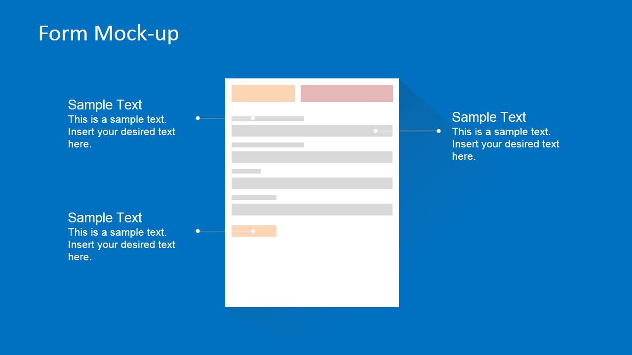 Ecommerce Customer Contact Form Page Mockup