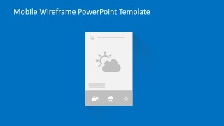 PowerPoint Wireframe Weather Use Case