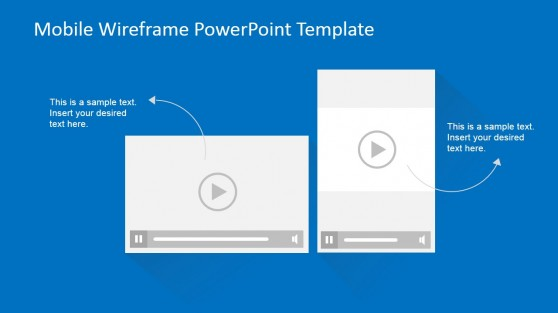 User interface powerpoint templates for Powerpoint wireframe template for ui design