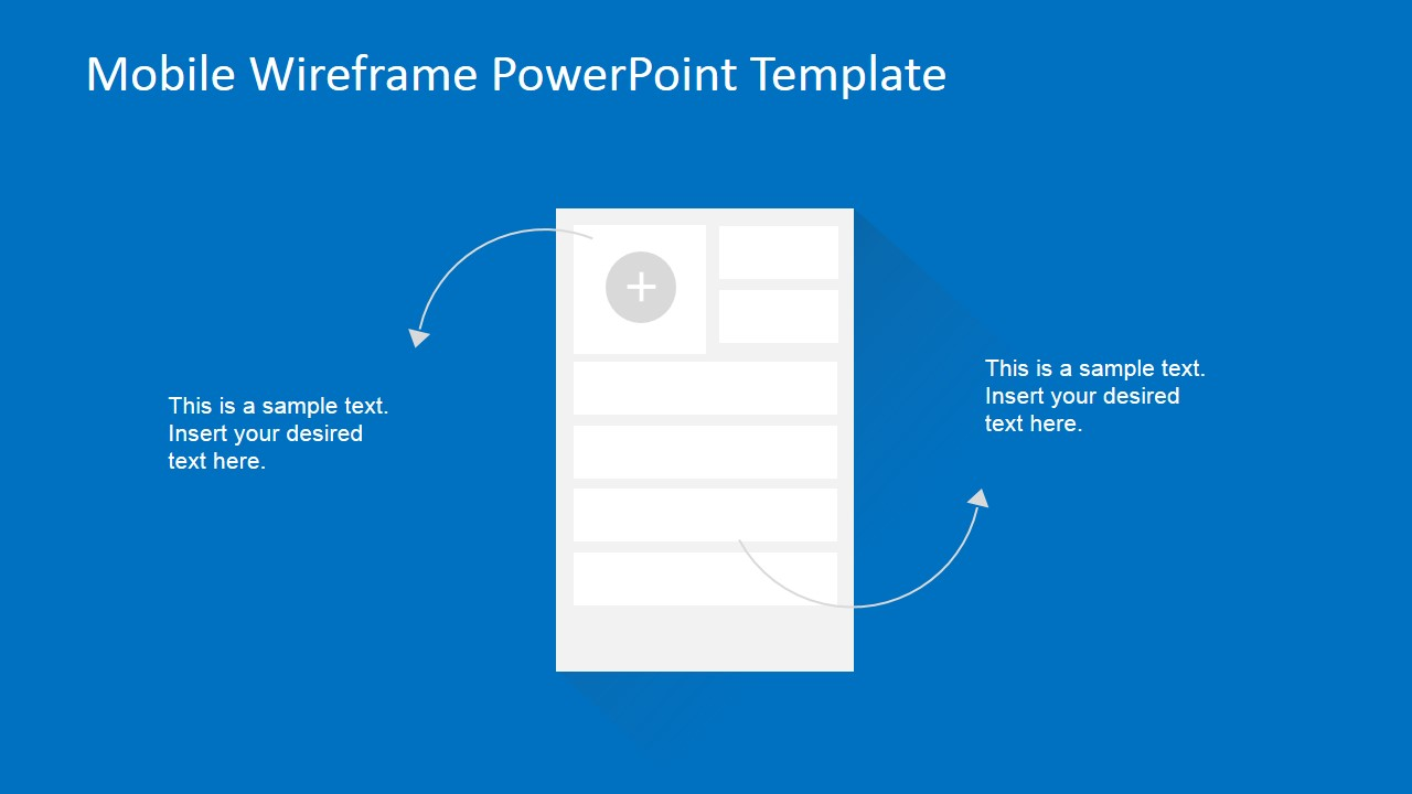 PowerPoint Wireframe Add Contact Use Case