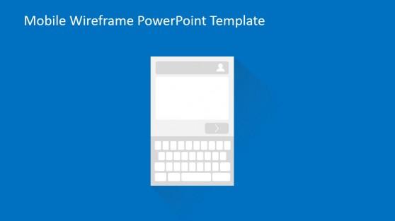 Type Description Mobile Widget Wireframe in PowerPoint