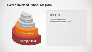 Creative PowerPoint Funnel Diagram Template