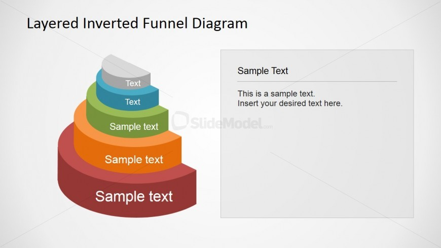 Amazingly Customized 5 level Funnel Diagram