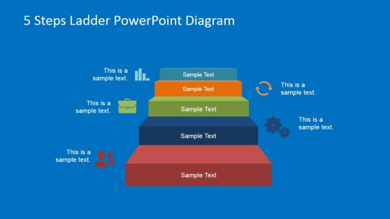 PowerPoint Template for 5 Step Process