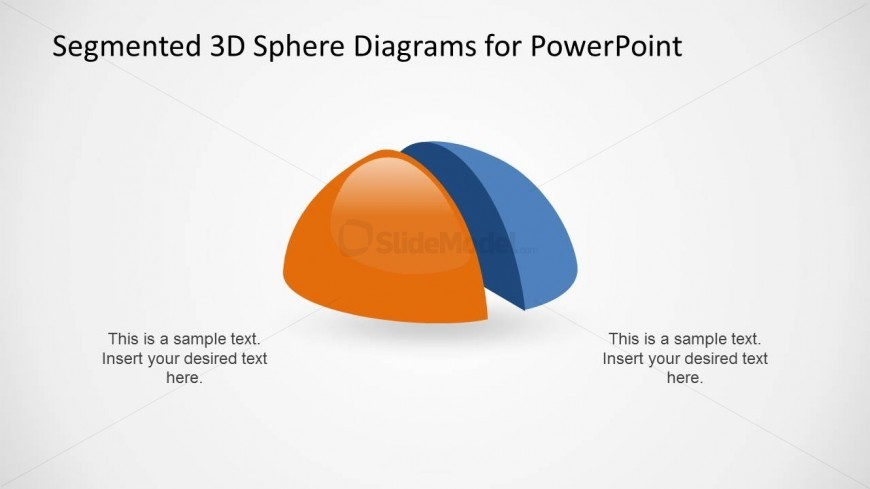 3D Hemisphere Design for PowerPoint