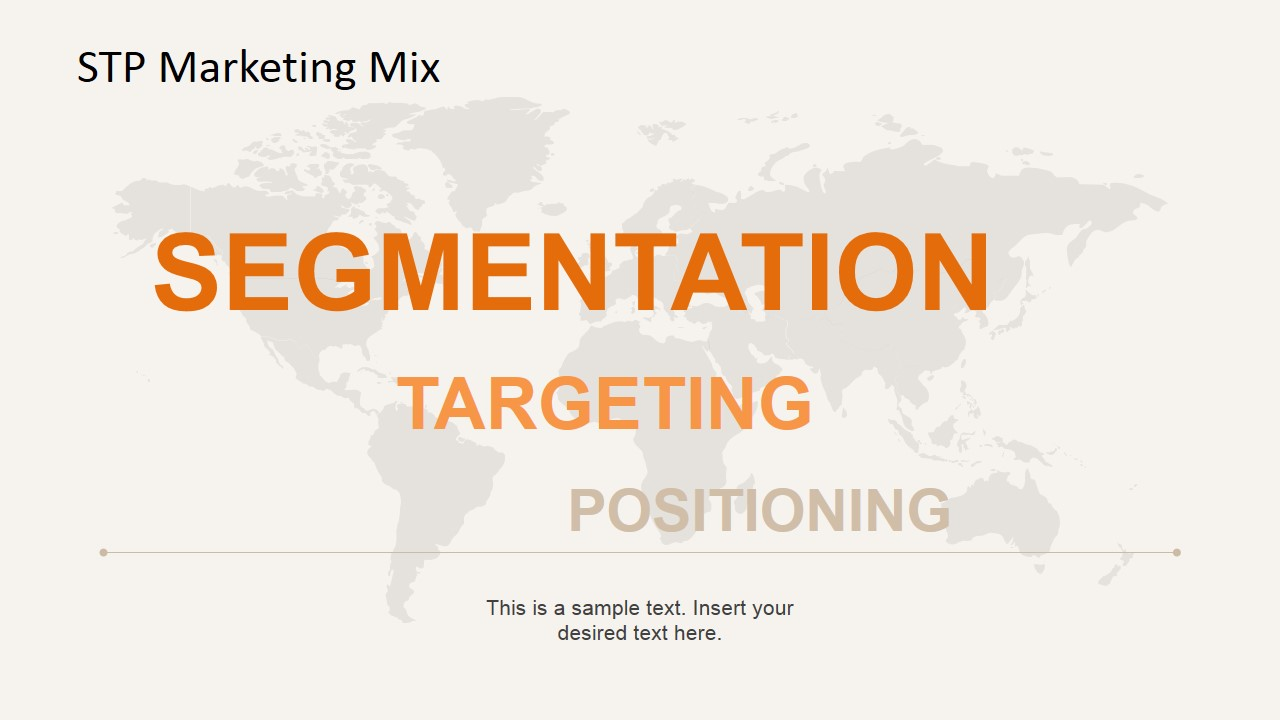 Segmentation, Targeting and Positioning PowerPoint Model with Atlas