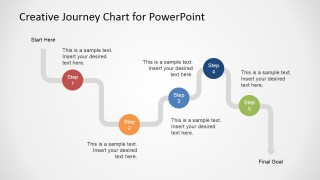 Creative journey chart for powerpoint slidemodel presentation topics translated in powerpoint of view toneelgroepblik