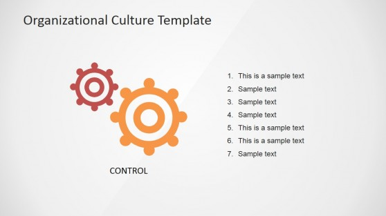 Hyerarchy Organizational Culture PowerPoint Slide Design