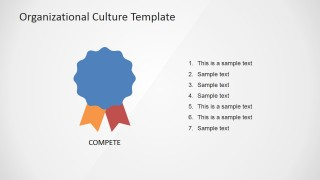 PowerPoint Market Culture Icon for PowerPoint