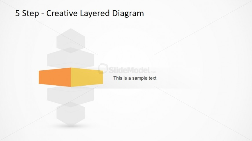 Vertical Layered Diagram Design for PowerPoint 3