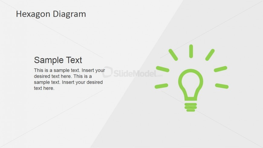Lightbulb Template for Amazing Business Ideas