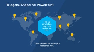 World Map PowerPoint Slide Design