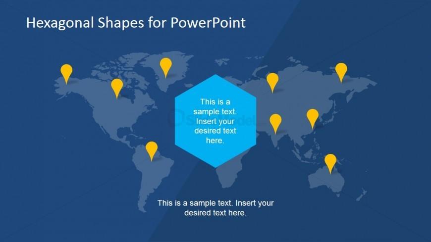 World Map PowerPoint Slide Design