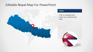 PowerPoint Template for Nepal's Economy