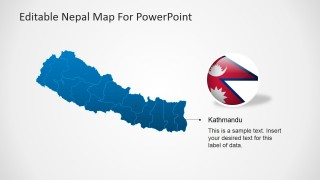 Capital of Nepal PowerPoint Slide