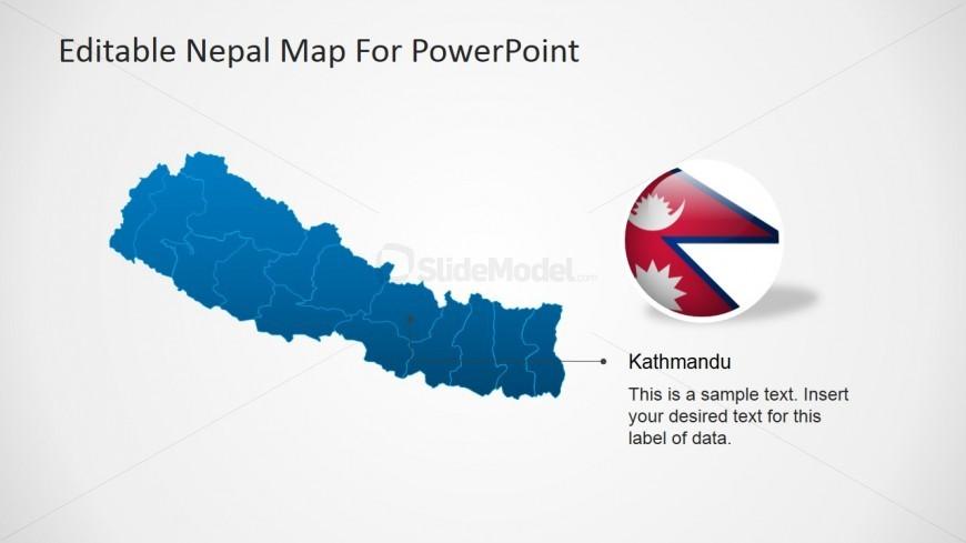 Capital of Nepal PowerPoint Slide