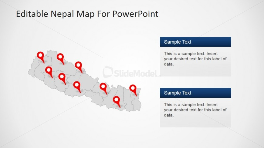 PowerPoint Slide for Nepal Tourism