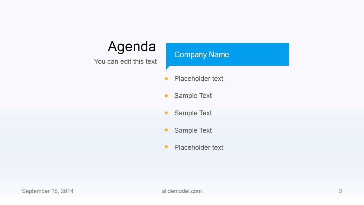 Flat Business Powerpoint Template Slidemodel