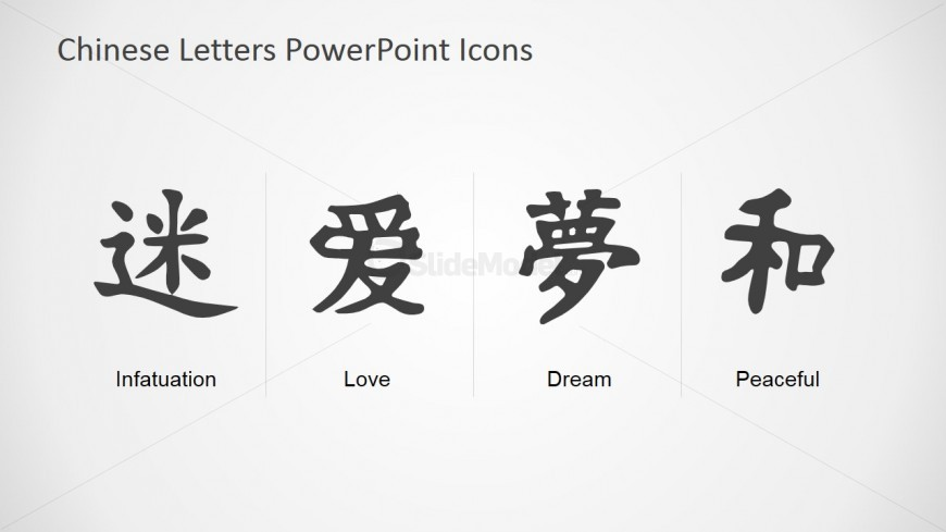 PowerPoint Slide Chinese Alphabet