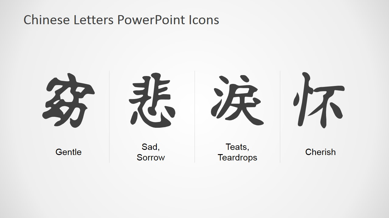 Chinese symbols powerpoint icons slidemodel chinese translation powerpoint presentation biocorpaavc Gallery