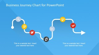 Business Journey Chart with Flat Icons