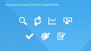 Flat PowerPoint Icons for Customer Journey Chart