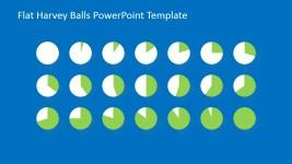 Editable Harvey Ball Shapes for PowerPoint