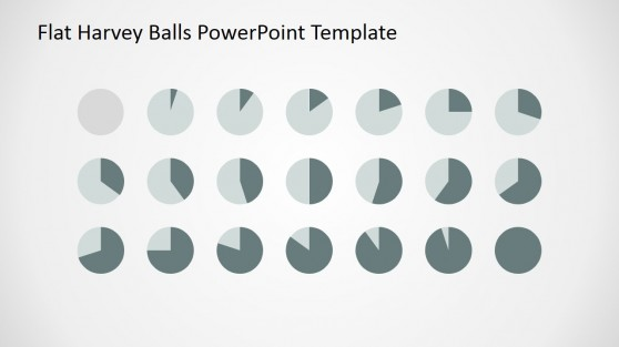Harvey Ball PowerPoint Slide Design