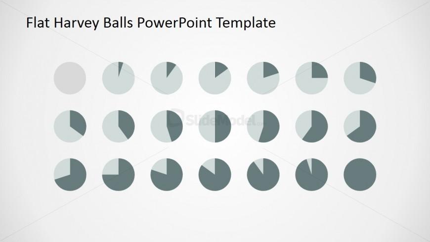 Harvey Ball PowerPoint Slide Design