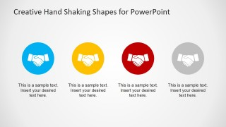 Making a Deal Handshaking Icons for PowerPoint